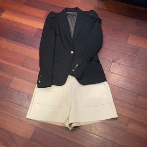 Zara Blazer & Shorts Set